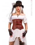 Корсет Steampunk Pirate X163