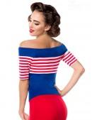 Блузка в стиле 50-х (101185) - оригинальная одежда, 2