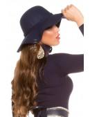 Широкополая женская шляпа в стиле Ретро (502065) - оригинальная одежда, 2