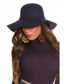 Широкополая женская шляпа в стиле Ретро (502065) - foto