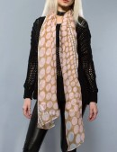Длинный женский шарф (хлопок) (714207) - foto