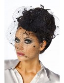 Вечерняя шляпка с вуалью Amynetti (502012) - цена, 4