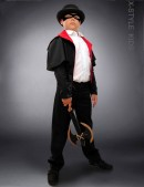 Детский карнавальный плащ X004 (222004) - foto
