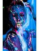 Неоновые краски для лица и тела (6 цветов) (120010) - цена, 4