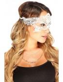 Белая кружевная маска 901002 (901002) - оригинальная одежда, 2
