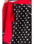 Пляжная юбка в горошек B0117 (140117) - 3, 8