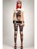 Леггинсы Steampunk-227 (128227) - оригинальная одежда, 2