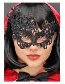 Черная ажурная маска XC1080 (901080) - материал, 6