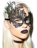 Черная ажурная маска XC1080 (901080) - оригинальная одежда, 2