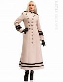 Длинное кашемировое пальто X5062 (115062) - foto