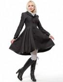 Асимметричное зимнее пальто женское (115039) - цена, 4