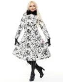 Зимнее пальто с мехом на воротнике X-Style (115030) - цена, 4