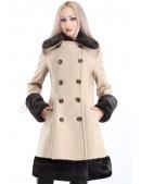 Зимнее приталенное кашемировое пальто X-Style (115020) - оригинальная одежда, 2