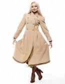 Женское зимнее кашемировое пальто X-Style (115038-2) - цена, 4