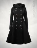 Зимнее пальто с капюшоном X15052 (115052) - цена, 4