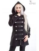 Зимнее пальто в стиле Милитари X-Style (115019) - foto
