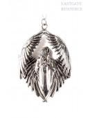 Оловянный кулон Ангел (CA9) - foto