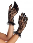 Короткие кружевные перчатки A139 (601139) - оригинальная одежда, 2