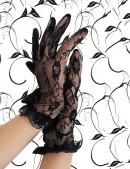 Короткие кружевные перчатки A139 (601139) - foto