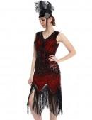 Ретро-платье в стиле 20-х XTC (105299) - оригинальная одежда, 2