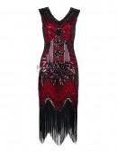 Ретро-платье в стиле 20-х XTC (105299) - 3, 8