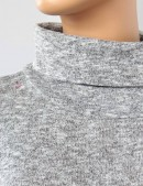 Серое меланжевое платье XC306 (105306) - цена, 4