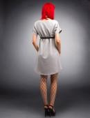 Платье с портупеей X246 (105246) - оригинальная одежда, 2