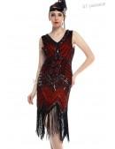 Ретро-платье в стиле 20-х XTC (105299) - foto