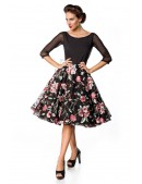 Винтажное вечернее платье Belsira (105392) - материал, 6