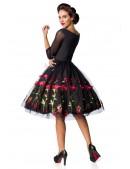 Винтажное платье с вышивкой на юбке Belsira (105396) - оригинальная одежда, 2