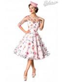 Винтажное платье с вышитыми цветами Belsira (105402) - foto