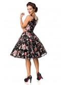 Платье Ретро с вышитыми цветами Belsira (105404) - материал, 6