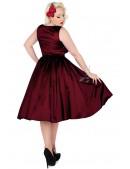Платье в стиле Ретро с поясом XC336 (105336) - материал, 6
