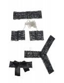 Комплект белья с наручниками и маской (135009) - оригинальная одежда, 2