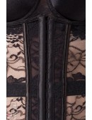 Красивое нижнее белье в стиле Ретро BL029 (135029) - материал, 6