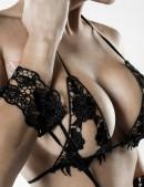 Сексуальное белье с наручниками и маской Grey Velvet (135014) - цена, 4