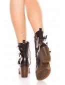 Ботинки женские с полиуретановыми подошвами MF10047 (310047) - 3, 8