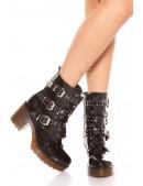 Ботинки женские с полиуретановыми подошвами MF10047 (310047) - foto