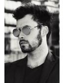 Зеркальные круглые очки Hitek (905063) - оригинальная одежда, 2