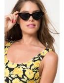 """Черные очки """"кошачий глаз"""" IN5093 (905093) - оригинальная одежда, 2"""