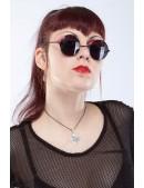 Круглые черные очки IN5097 (905097) - оригинальная одежда, 2