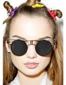 Круглые очки в стиле Хай-тек (905051) - оригинальная одежда, 2
