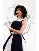 Белый ажурный зонт X02014 (402014) - цена, 4