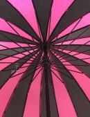 Зонт-трость 24 спицы (фуксия/черный) (402074) - материал, 6