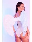 Большие крылья ангела белые (80 см) CC039 (420039) - foto