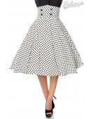 Винтажная юбка с высоким поясом (107132) - foto
