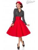 Красная юбка в стиле Ретро (107131) - foto