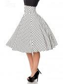 Винтажная юбка с высоким поясом (107132) - 3, 8