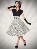 Винтажная юбка с высоким поясом (107132) - цена, 4