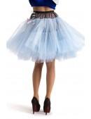 Многослойный пышный голубой подъюбник X-Style (107156) - оригинальная одежда, 2